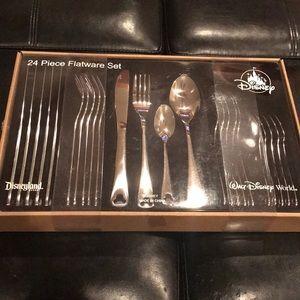 24 piece Disney flatware set